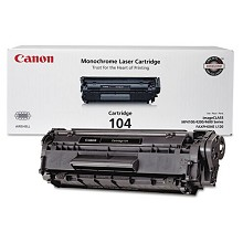 Original Canon FX-9 CRG-104 Black Toner Cartridge