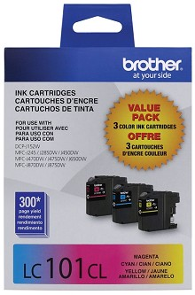 Brother LC1013PKS Standard Yield C/M/Y Ink Combo Pack