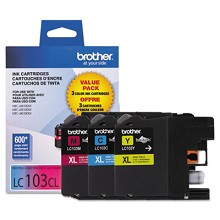 Brother LC1033PKS High Yield Color Ink Combo Pack