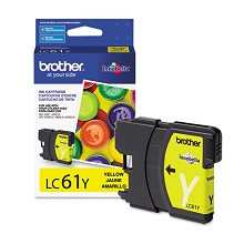 Original Brother LC61Y Yellow Ink Cartridge