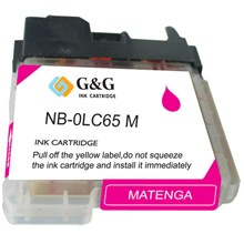 Compatible Brother LC65HYM High Yield Magenta Ink Cartridge