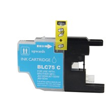 Compatible Brother LC75C High Capacity Cyan Ink Cartridge