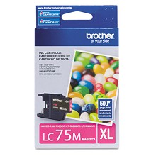 Original Brother LC75M High Capacity Magenta Ink Cartridge
