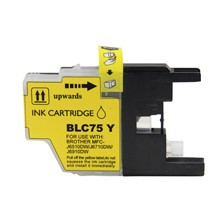 Compatible Brother LC75Y High Capacity Yellow Ink Cartridge