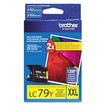Original Brother LC79Y Super High Capacity Yellow Ink Cartridge
