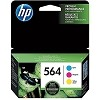 Genuine HP 564 N9H57FN Color Ink Combo Pack