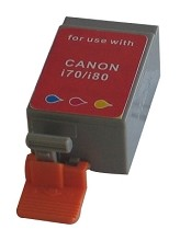 Compatible Canon BCI-15CL Color Ink Cartridge 2 Pack