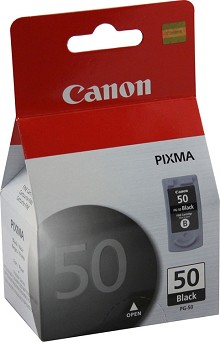 Original Canon PG-50 High Capacity Black Ink Cartridge