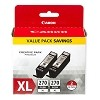 Genuine Canon PGI-270XL High Capacity Pigment Black Ink 2 Pack