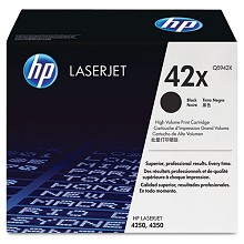 Genuine HP 42X Q5942X High Yield Black Toner Cartridge