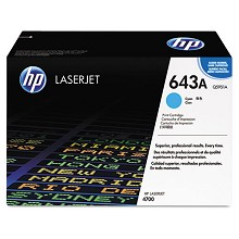 Genuine HP 643A Q5951A Cyan Toner Cartridge
