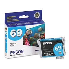 Original Epson T069220 Cyan Ink Cartridge
