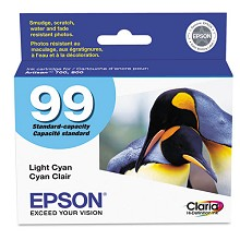 Original Epson 99 T099520 Standard Capacity Light Cyan Ink Cartridge
