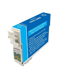 Remanufactured Epson T125220 Cyan Ink Cartridge