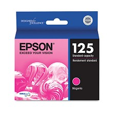 Original Epson T125320 Magenta Ink Cartridge