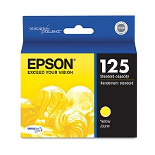 Original Epson T125420 Yellow Ink Cartridge