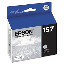 Original Epson T157720 Light Black UltraChrome K3 Ink Cartridge