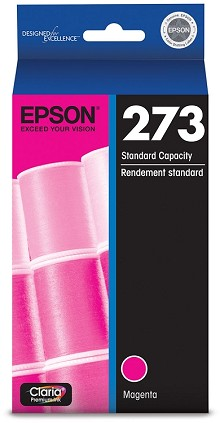 Original Epson (273) T273320 Magenta Ink Cartridge