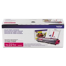Original Brother TN-221M Magenta Toner Cartridge