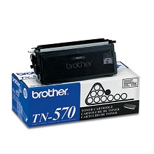 Original Brother TN-570 High Yield Black Toner Cartridge