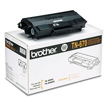 Original Brother TN-670 High Yield Toner Cartridge