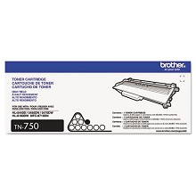 Original Brother TN-750 High Yield Black Toner Cartridge