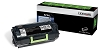 Original Lexmark 521HL High Yield Return Program Toner for Label Applications