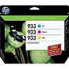 Genuine HP 933 B3B32FN Creative Combo Pack
