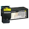 Original Lexmark C540H2YG High Yield Yellow Toner Cartridge
