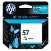 Genuine HP 57 C6657A Color Ink Cartridge