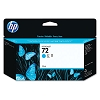 Genuine HP 72 C9371A Cyan Ink Cartridge 130ml
