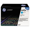 Genuine HP 642A CB401A Cyan ColorSphere Print Cartridge