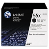 Genuine HP 55X CE255XD High Yield Toner Dual Pack