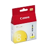 Original Canon CLI-8Y Yellow Ink Cartridge
