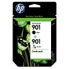 Genuine HP 901 CN069FN Black / Color Ink Cartridge Combo Pack