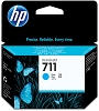 Genuine HP 711 CZ130A Cyan Ink Cartridge 29ml