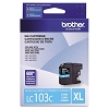 Brother LC103C High Yield Cyan Ink Cartridge