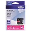 Brother LC103M High Yield Magenta Ink Cartridge