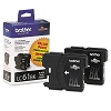 Original Brother LC61BK Black Ink Cartridge 2 Pack
