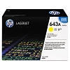 Genuine HP 643A Q5952A Yellow Toner Cartridge