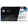 Genuine HP 124A Q6001A Cyan Toner Cartridge