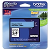 Brother TZE541 3/4 in. Laminated Black on Blue Tape