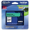 Brother TZE741 3/4 in. Laminated Black on Green Tape