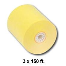 3 in. x 165 ft 1ply Bond Yellow, 50 Rolls