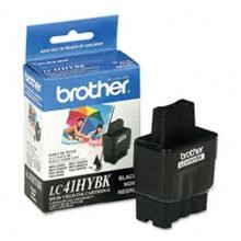 Original Brother LC41HYBK High Capacity Black Ink Cartridge