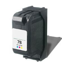 Remanufactured HP 78XL C6578AN High Capacity Color Ink Cartridge