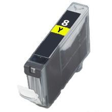 Compatible Canon CLI-8Y Yellow Ink Cartridge
