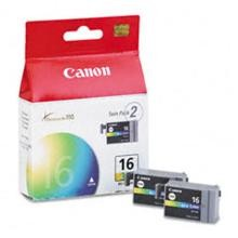 Original Canon BCI-16C Color Ink Cartridge 2 Pack