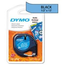 Dymo 91335 Letratag Tape Cartridge, 1/2in x 13ft Ultra Blue