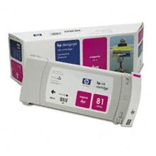 Genuine HP 81 C4932A Magenta Ink Cartridge